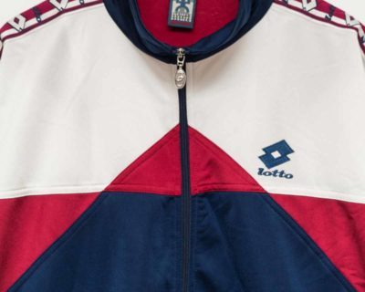 VESTE – LOTTO – SPORT TRAINING INTARSIA – Size XL
