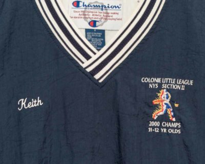 PULLOVER – CHAMPION – COLONIE LITTLE LEAGUE – Size L